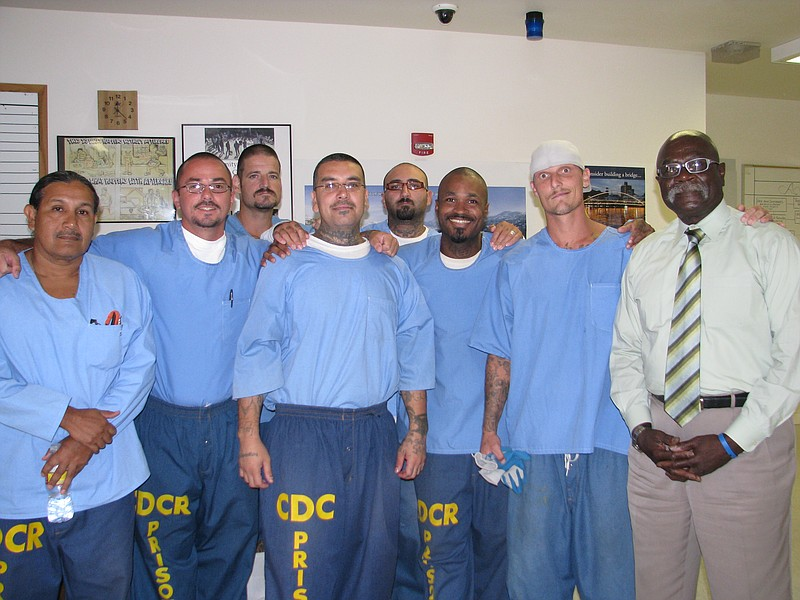 A group of Donovan State Prison inmates are taking part in a substa... ()