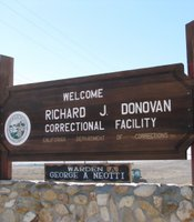 R.J. Donovan State Prison is located a few miles from the U.S.-Mexico border.
