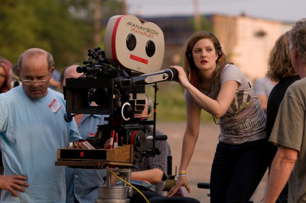 Drew Barrymore directing
