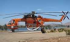 "The ""Incredible Hulk"" firefighting helicopter is one of the largest in the world."