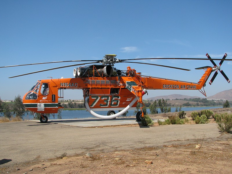 "The ""Incredible Hulk"" firefighting helicopter is one of the largest in the wo..."