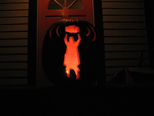 """Say Anything"" pumpkin from "">smohundro."