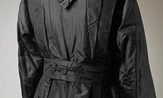When many women began entering the work force during World War I, the clothing began to reflect a shift in women's roles. This silf taffeta jacket was made around 1915 by an unknown designer.