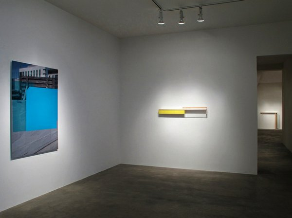 Installation image of Johannes Girardoni: UNDISCLOSED at the Quint Contemporary Art museum.