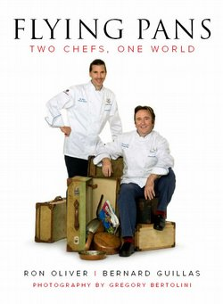The book cover for their new collaborative book of recipes features Chefs Ber...