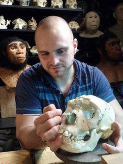 Building Faces From Fossils: Paleoartist Viktor Deak works from casts of fossil skulls to put faces to Turkana Boy and other ancient hominids. 