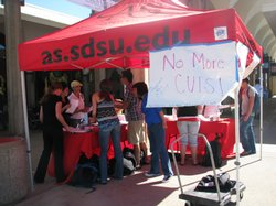 Student leaders are urging their classmates to support Assembly Bill 656.