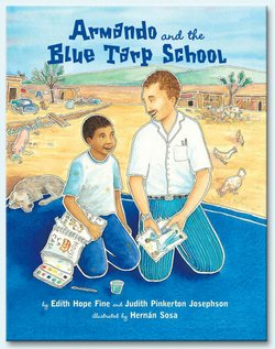 """""""Armando and the Blue Tarp School"""" is a children's book that will be adapted into a new musical by the Park Dale Players at UCSD."""