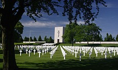 Lorraine American Cemetery, France.