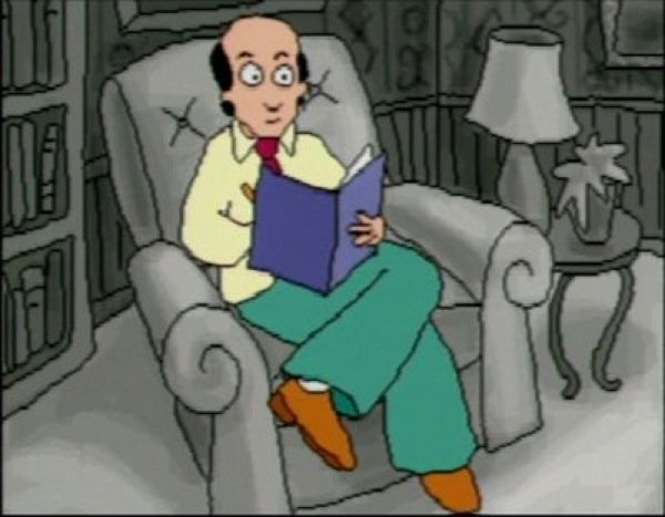 """Dr. Katz, Professional Therapist"""