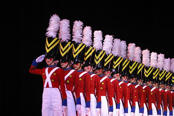 """""""Parade of the Wooden Soldiers"""" continues to set the standard as the signature Rockette number for precision performance."""