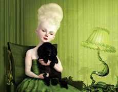 Work by Artist Ray Caesar, whose book Ray Caesar Art Collection: Volume One is produced by Murphy Designs.