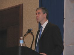 U.S. Secretary of Education Arne Duncan addressed National Conference of Stat...