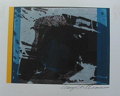 Monoprint, 1961. By Guy Williams
