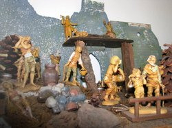 Father Joe's Villages also has miniature versions of the nativity scene, made...