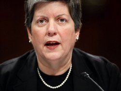 "Homeland Security Secretary Janet Napolitano, seen in this Dec. 9 photo, told CNN on Sunday that the security screening system had worked and that the suspect in the Christmas Day bomb incident ""was stopped before any damage could be done."""