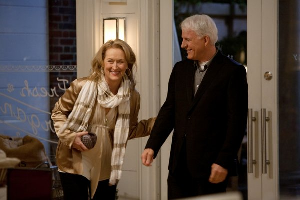 "Meryl Streep and Steve Martin in ""It's Complicated"""