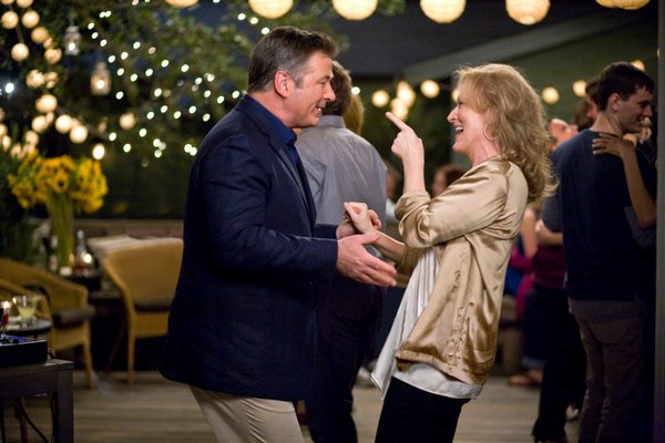 "Alec Baldwin and Meryl Streep in ""It's Complicated"""