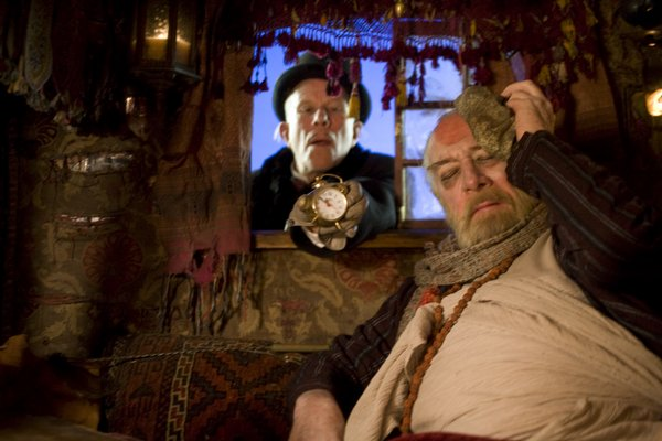 Tom Waits as the Devil and Christopher Plummer as Dr. Parnassus