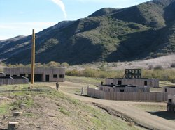 A simulated village on Camp Pendleton is the site of roleplay exercises with ...