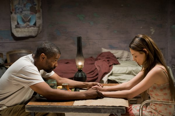"Denzel Washington and Mila Kunis star in ""The Book of Eli"""