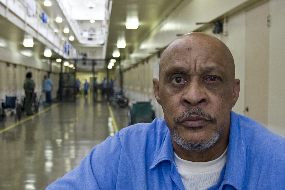 Jimmy Reece, 65, has just had cataract surgery.  He is serving a life sentence for murder.
