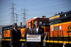 Governor Schwarzenegger holds a press conference to announce California has b...