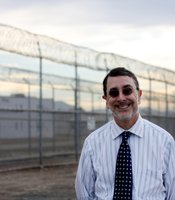 Dr. Rick Bjorklund is in charge of all psychological services at the R.J. Donovan Correctional Facility.