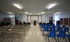 A chapel at R.J. Donovan Correctional Facility that serves Level 3 and 4 inma...