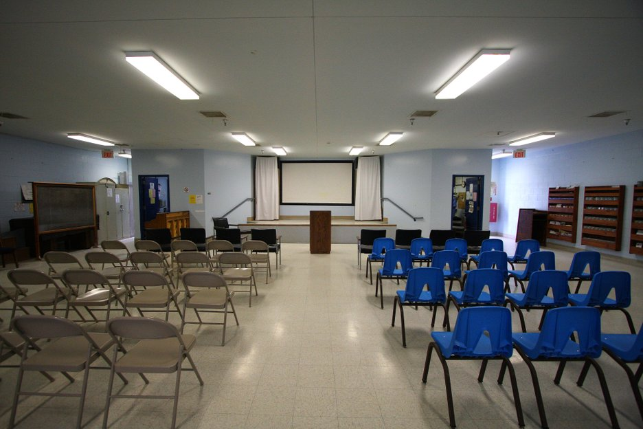 A chapel at R.J. Donovan Correctional Facility that serves Level 3 and 4 inmates.  It is an inter-faith, all denominational chapel for the approximately 16 different religious faiths at the prison. There are a total of five chapels at Donovan.