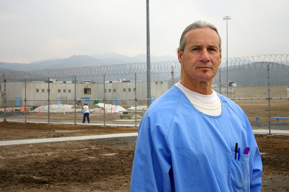 Inmate Terry Campbell is serving a life sentence for first degree murder at the R.J. Donovan Correctional Facility.  Campbell has been in prison for 44 years and he's 65 years old.