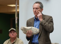 Dr. Thomas Deméré, Curator of Paleontology at the San Diego Natural History M...
