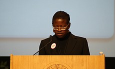 Associate Professor Nadine George-Graves speaks... (3743)