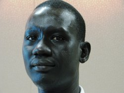 Majur Malou was detained in a military prison in Sudan in 1991, after protest...