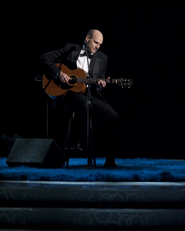James Taylor and the tribute to dead celebrities
