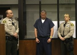 John Albert Gardner III pleads not guilty to murder and other charges in the case involving 17-year-old Chelsea King in San Diego Superior Court on Wednesday March 3, 2010.