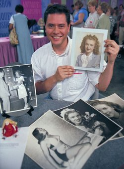 Appraiser Gerald Tomlin knows there's no business like show business when he comes across this collection of Marilyn Monroe photos and memorabilia (shown with the owner), documenting her progression from 14-year-old Norma Jean Baker to screen siren, and valued at $18,000 to $20,000.