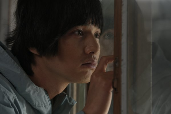 "Won Bin as the son in ""Mother"""