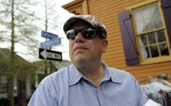 "David Simon, creator of the ""The Wire"" and the new HBO show ""Treme."""