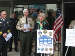 San Diego County officials talk about success of East County Public Safety Ta...
