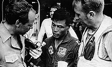 South Vietnamese pilot Bung Ly may have been in shock after landing his tiny ...