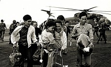 Many Vietnamese experienced terror and panic during their flight to freedom. They were leaving their homes, businesses, and relatives behind, fleeing toward an uncertain future in America.
