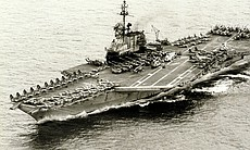 Once the USS Midway completed its humanitarian rescue in Operation Frequent W...