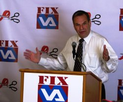 Congressman Bob Filner says the VA makes too many veterans wait too long to g...