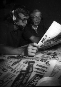 Established in 1975, KPBS Radio Reading Service volunteers read newspapers, magazines, books, and advertisements to the visually impaired.