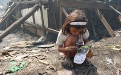 Rosalind lives in the dump outside of Manila. She says every breath hurts. The filth, the crowded conditions, and the ever present smoke make it almost impossible for Rosalind to escape pneumonia.