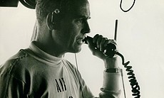 "Vern Jumper used the ""red phone"" to communicate with Captain Chambers during ..."