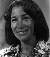 Gloria Penner in 1976 headshot for KPBS.