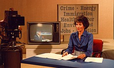 "Hosted by Gloria Penner, ""Agenda 81"" was a key program in KPBS' coverage of l..."