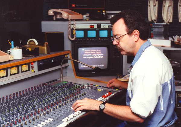 When KPBS opened the current broadcast center in 1994, it featured state-of-the-art equipment, including audio boards which allowed operators to digitally mix levels for optimum sound.